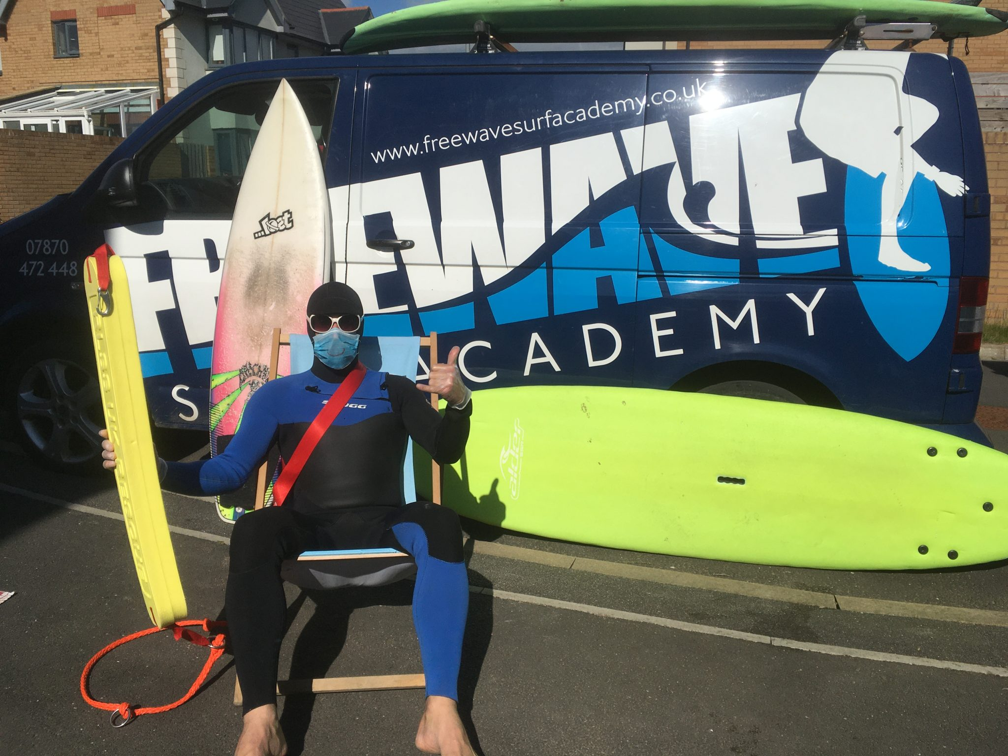 Freewave Surf School Cornwall COVID