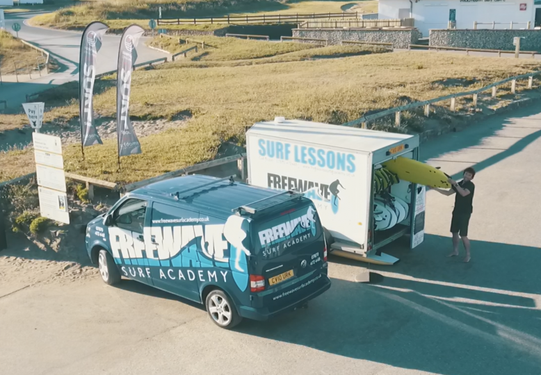 Freewave Surf Academy Trailer
