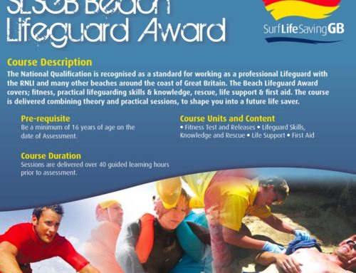 Surf/Beach Lifeguard Award