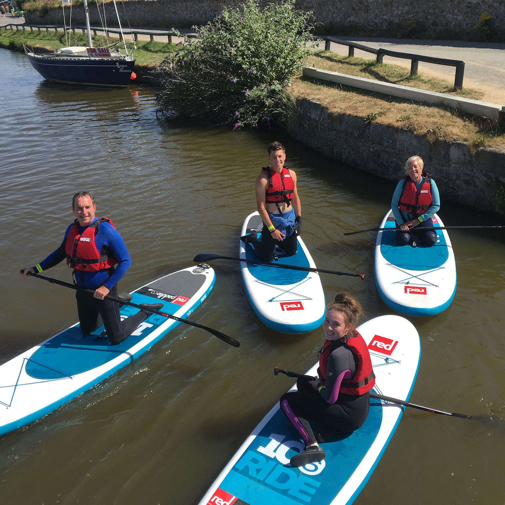 Stand Up Paddleboarding Bude