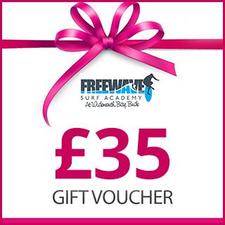 £35 Freewave Surf Academy Gift Voucher