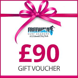 £90 Freewave Surf Academy Gift Voucher
