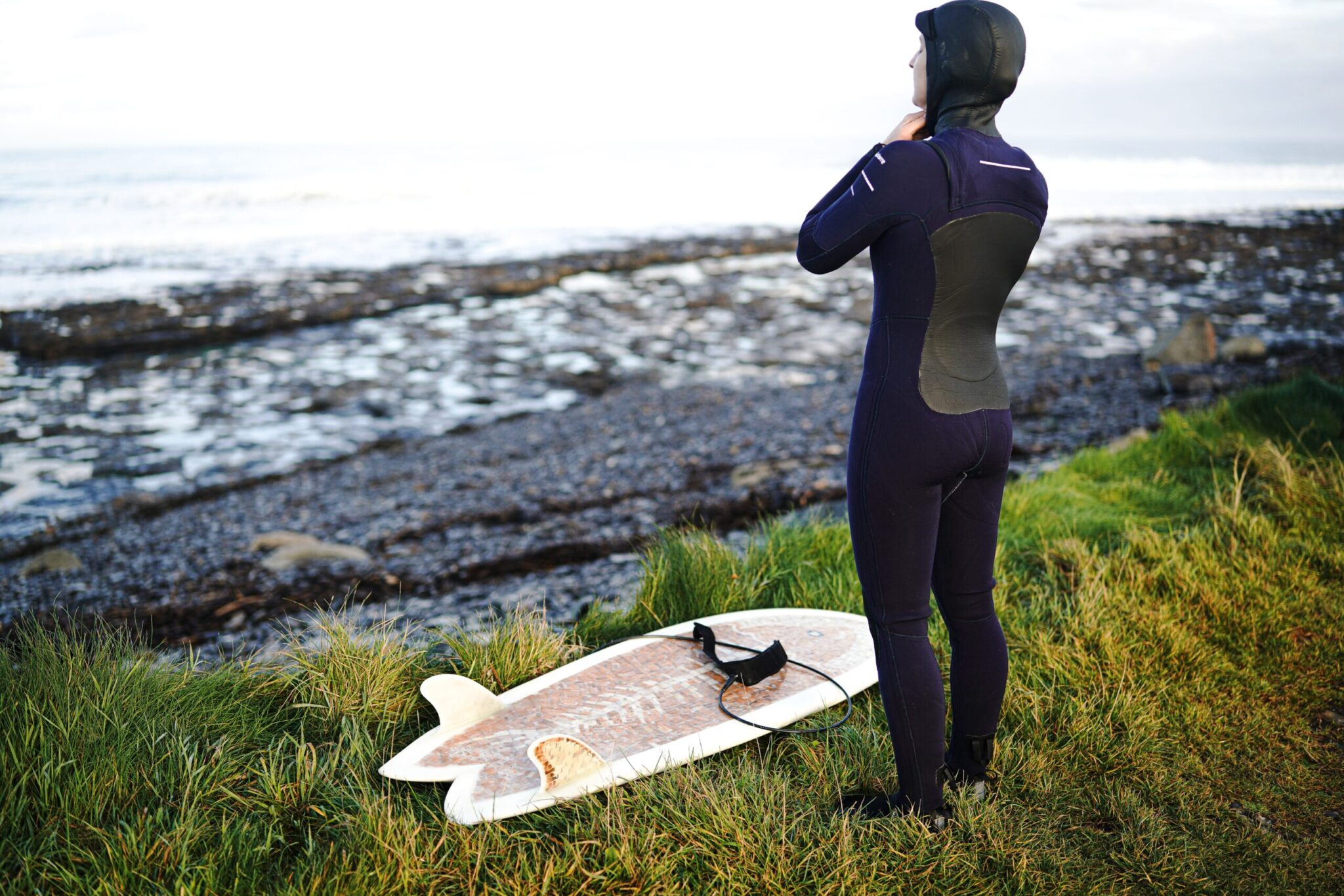Winter surfing UK